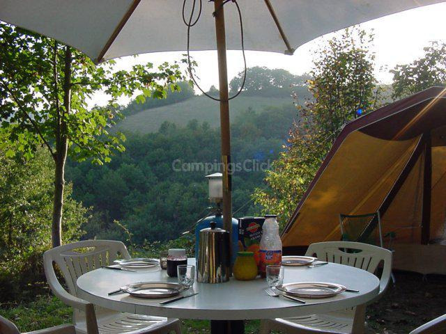 Camping aire naturelle L'albugue